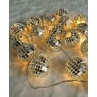"""Светодиодная гирлянда """"Зеркальные шарики"""" ArtStyle CL-N220WW"""