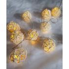 """Светодиодная гирлянда """"Тростниковые шарики"""" ArtStyle CL-N221WW"""