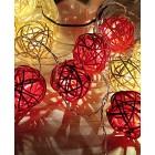 """Светодиодная гирлянда """"Тростниковые шарики"""" ArtStyle CL-N222WW"""