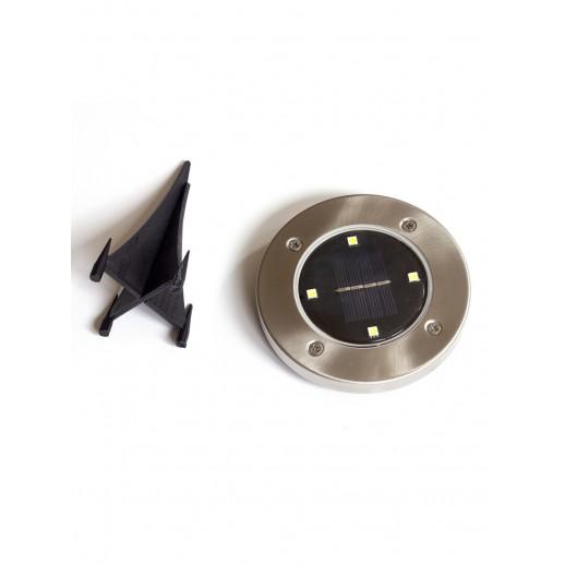 Cветодиодный садовый светильник-фонарь с солнечной батареей, CL-S14Cx2, наземный (2шт.)