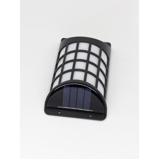 Cветодиодный настенный светильник на солнечной батарее, CL-S21F, черный