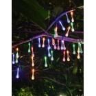 """Cветодиодная гирлянда садовая с солнечной батареей, CL-SS35M, """"Капельки"""""""