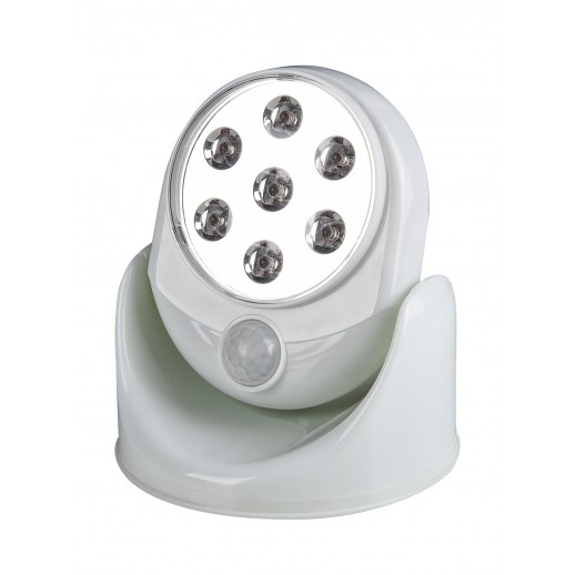 Светильник светодиодный автономный с датчиком движения Autonoma LED, IP44, 3,5Вт, 4xAA, düwi
