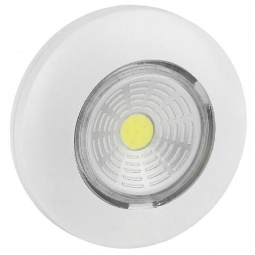 Светодиодный самоклеящийся фонарь-подсветка REV Pushlight белый