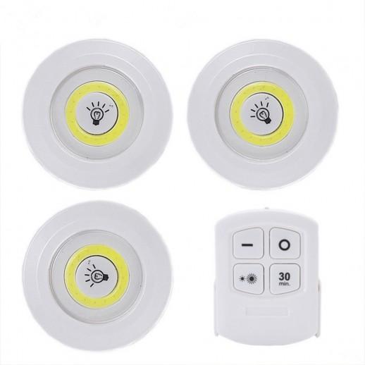 Светодиодный фонарь-подсветка с пультом ду REV Pushlight MySmart