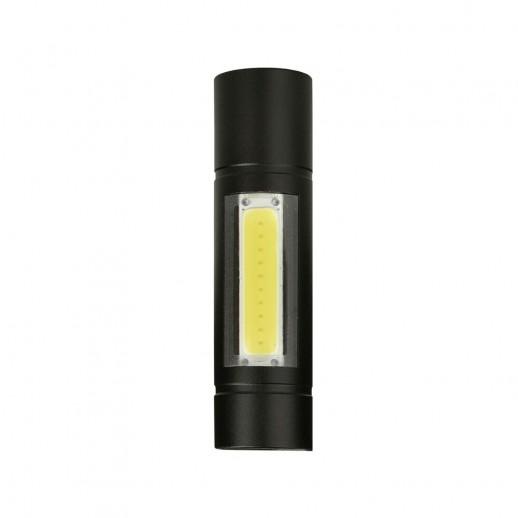 Компактный аккумуляторный фонарь 2 в 1 из алюминиевого сплава REV AccuPRO600 USB