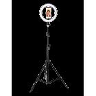 Напольный кольцевой LED светильник TL-602B, черный