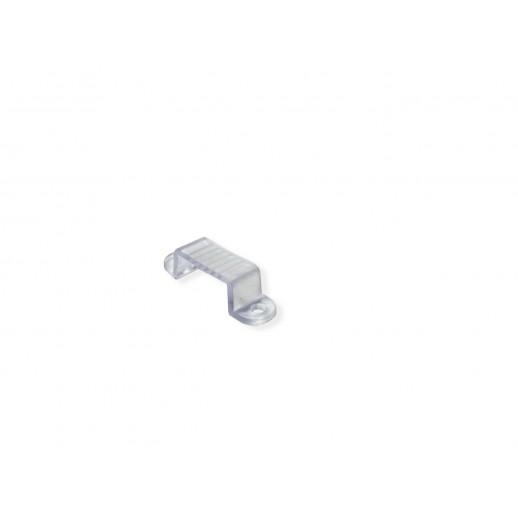 Пластиковый держатель для одноцветного двустороннего светодиодного неона (8.5*18.5мм)
