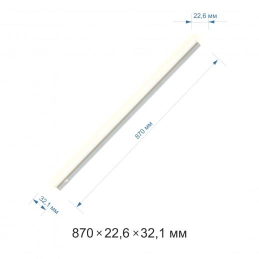 Светильник светодиодный аналог T5, 12Вт, 4000К, 870х22.6х32.1 мм, белый