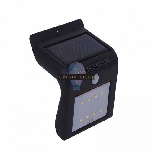 Автономный светодиодный светильник, CL-S01B, черный, 2Вт, с солнечной батареей, бесконтактный