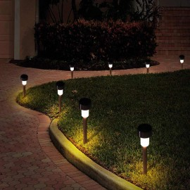 Садовые светильники на солнечных батареях