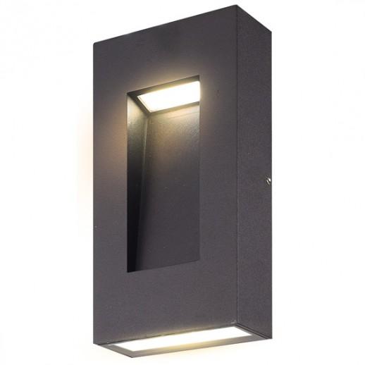 Светильник сд уличный архитектурный 12W 3000K IP44 мат.черный, duwi