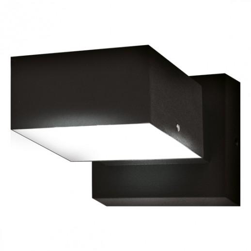 Светильник светодиодный, уличный, архитектурный, 6W, 6500K, IP44, мат.черный, duwi