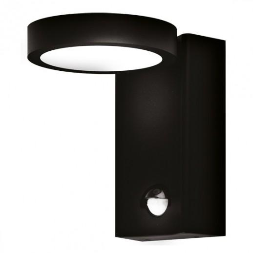 Светильник светодиодный, уличный, архитектурный, с д/д, 8W, 4000K, IP44, мат.черный, duwi