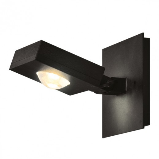 Светильник светодиодный, уличный, архитектурный, 7W, 3000K, IP44, мат.черный, duwi
