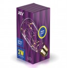 Лампа сд VINTAGE Copper Wire ST64 E27, 2700K, DECO Premium, теплый свет