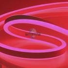 10-77 Светодиодный НЕОН (2 стор.),220В, 6Вт/м,SMD2835,108д/м,IP65,150Лм/м,кат.50м,8.5*18.5,красный
