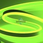 10-79 Светодиодный НЕОН (2 стор.),220В, 6Вт/м,SMD2835,108д/м,IP65,150Лм/м,кат.50м,8.5*18.5,зеленый