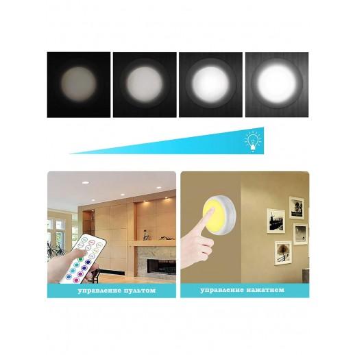 Автономный светодиодный светильник, CL-W3X06RGB