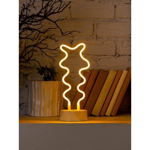 TL-930Y Cветодиодный неоновый светильник, желтый, сгибаемый, с подставкой,3Вт
