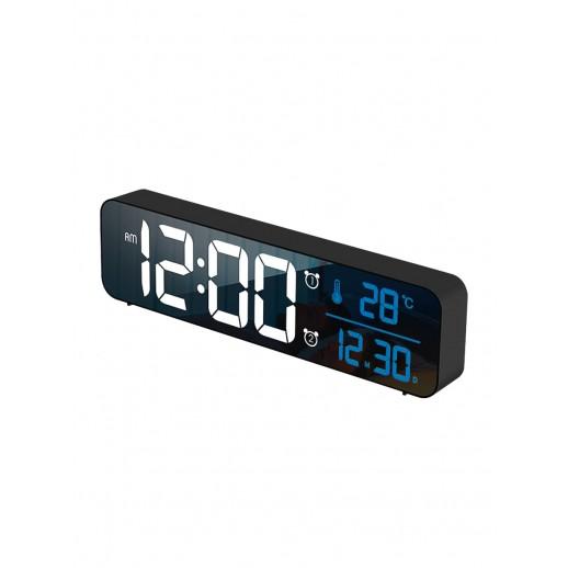 Часы электронные, CL-B81WBL, ARTSTYLE, черные, инд. - бел./син.