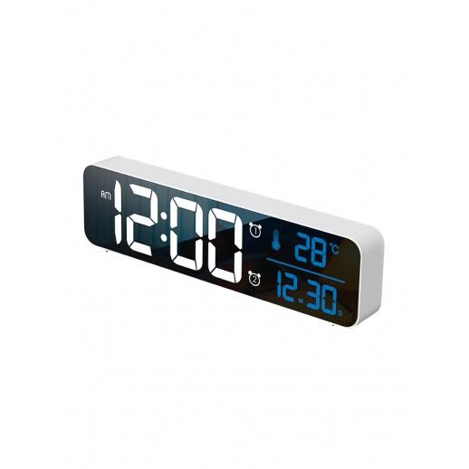 Часы электронные, CL-W81WBL, ARTSTYLE, белые, инд. - бел./син.
