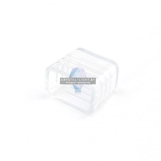 09-40 Заглушка пластиковая для одноцветного одностороннего светодиодного неона (10.5*18.5мм), арт. 10-71/72/73/74/75.