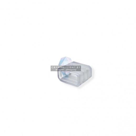 09-42 Заглушка пластиковая для одноцветного светодиодного неона МИНИ (8*16.5мм), арт. 10-81/82/83/84/85.