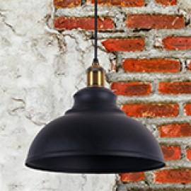 Черные люстры в стиле лофт