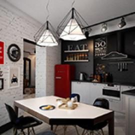 Люстры на кухню в стиле лофт(LOFT)